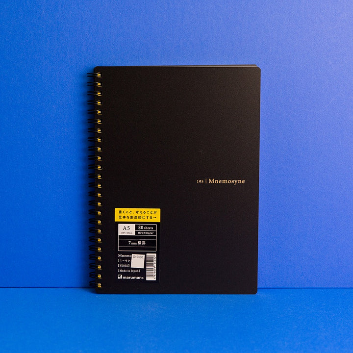 Mnemosyne A5 Notebook - Ruled