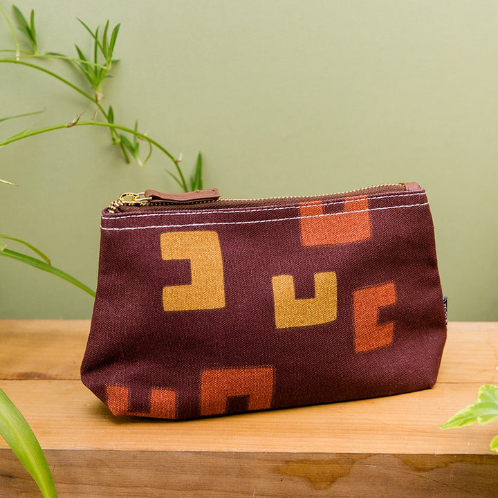 Medium Travel Pouch - Jordaan Cocoa