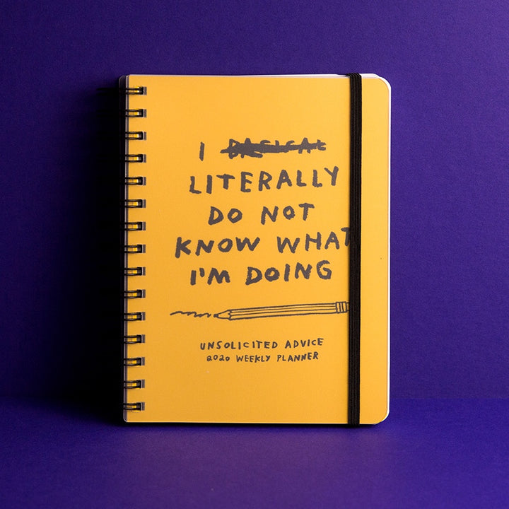 Unsolicited Advice 2020 Planner