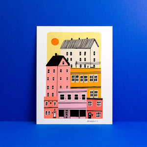 City Sunrise Print