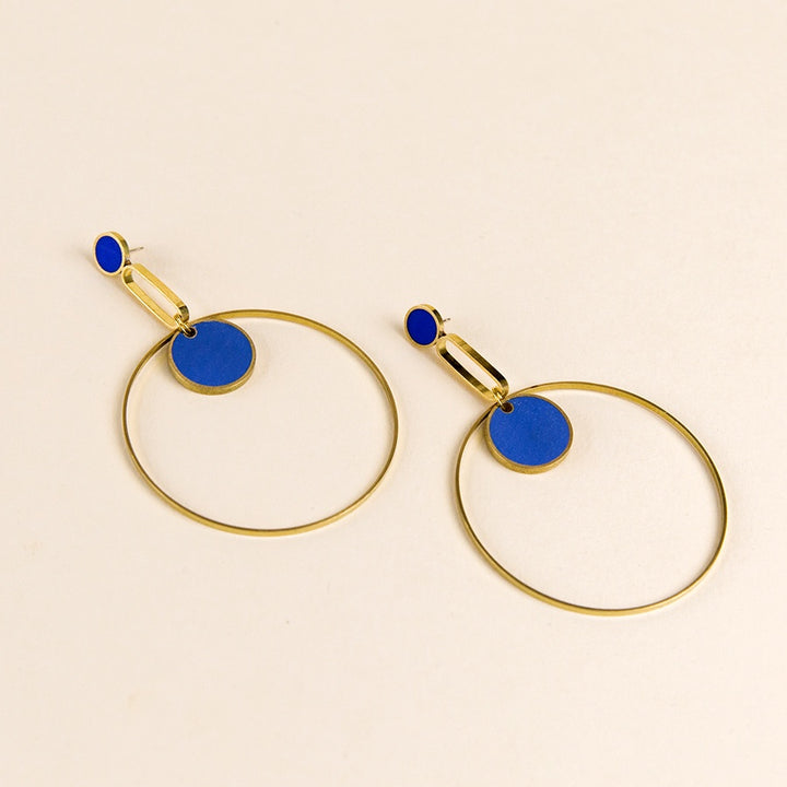 Orbit Statement Earrings