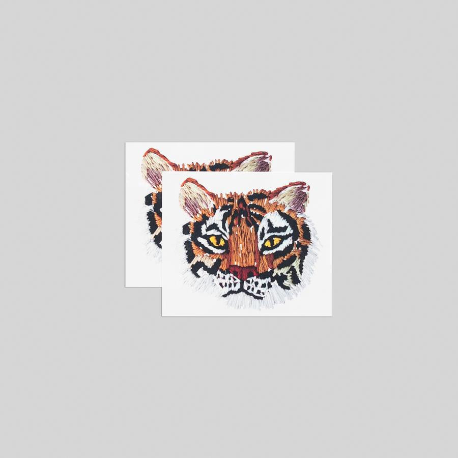 Tattly Temporary Tattoo Pairs - Stitched Tiger