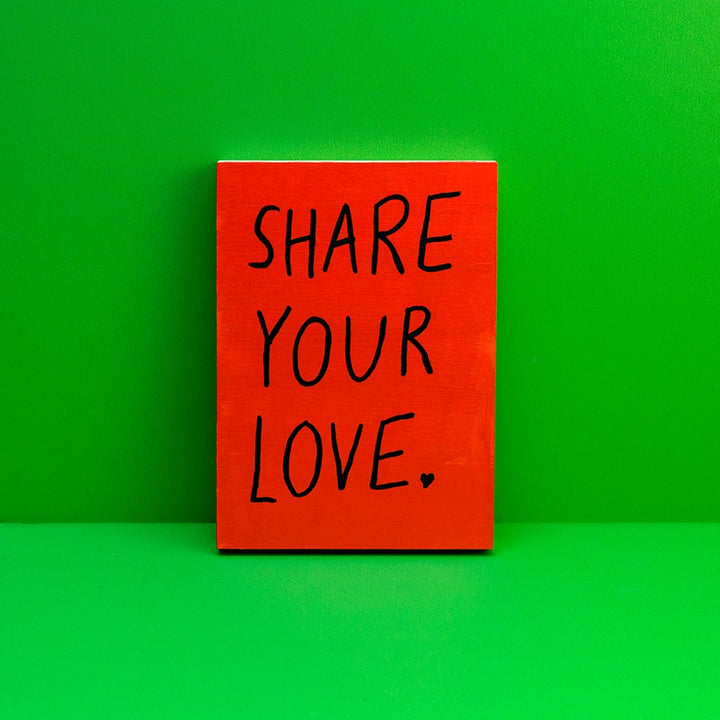 Reminder: Share Your Love