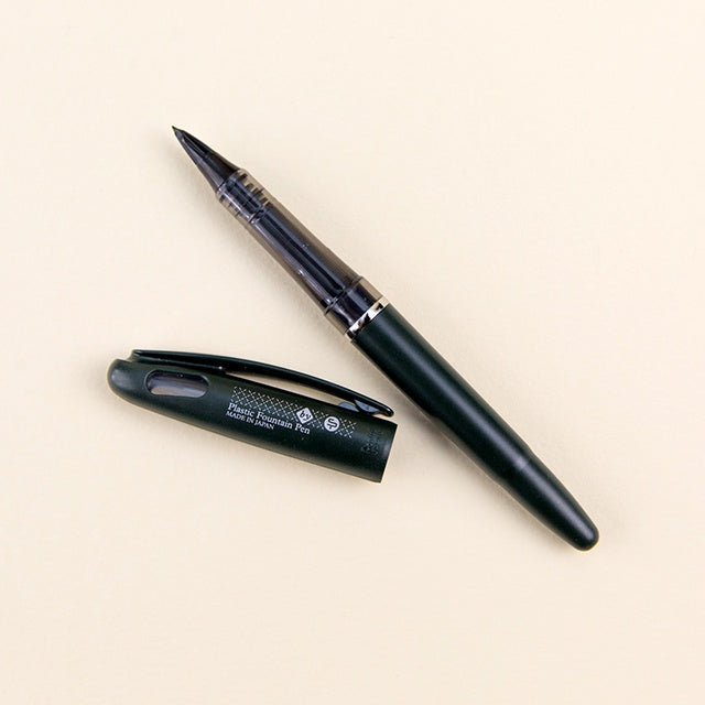 Tradio Plastic Fountain Pen - Black