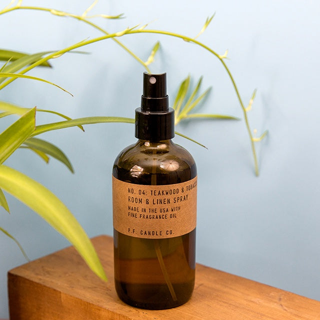 Linen & Room Spray - Teakwood & Tobacco