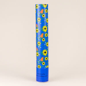 Wildflower Seed Paper Cannon