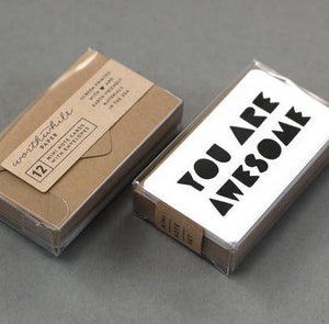 Mini Note Set - You Are Awesome