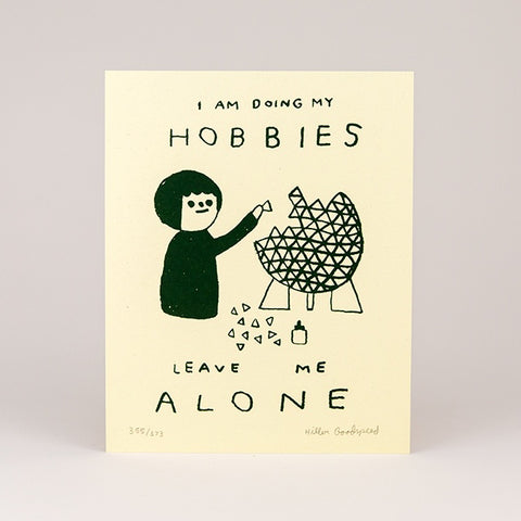 Hobbies Screenprint