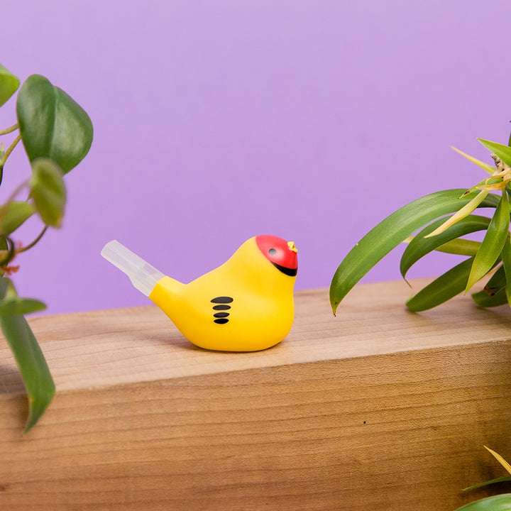 Bird Whistle Bath Toy - Yellow