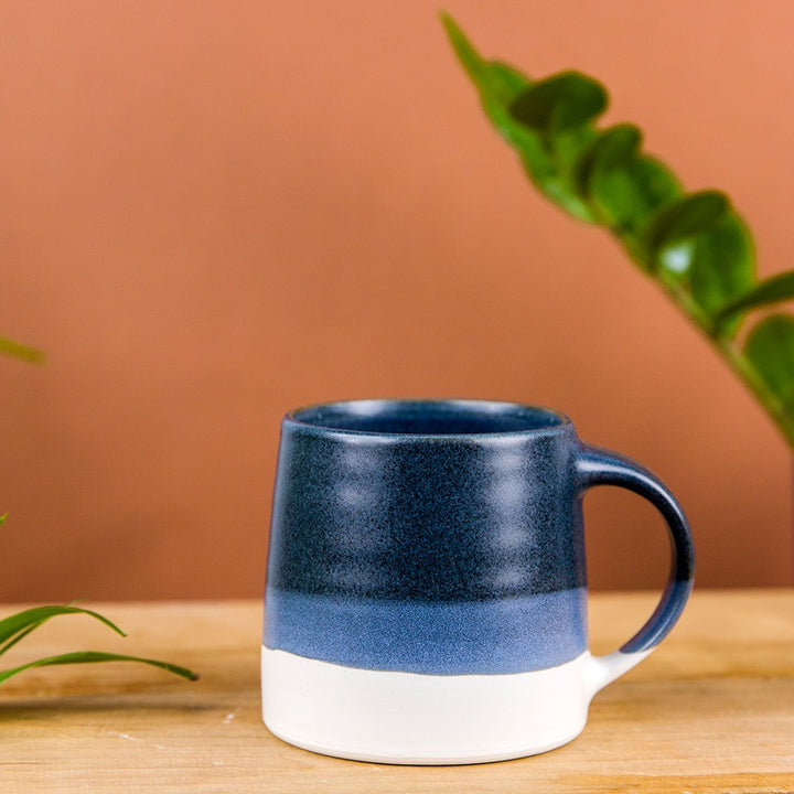 Slow Style Coffee Mug - Navy x White