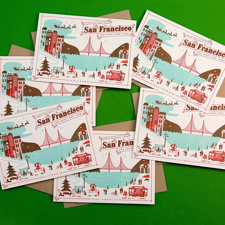 Happy Holidays From San Francisco Boxed Set