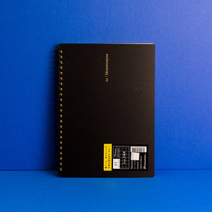 Mnemosyne A5 Notebook - Grid