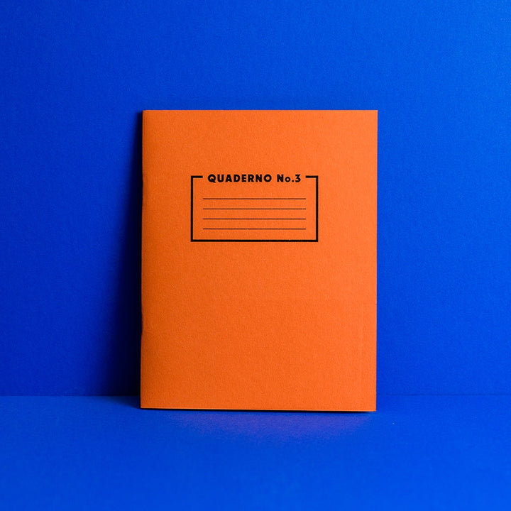 Quaderno Notebook - No. 3
