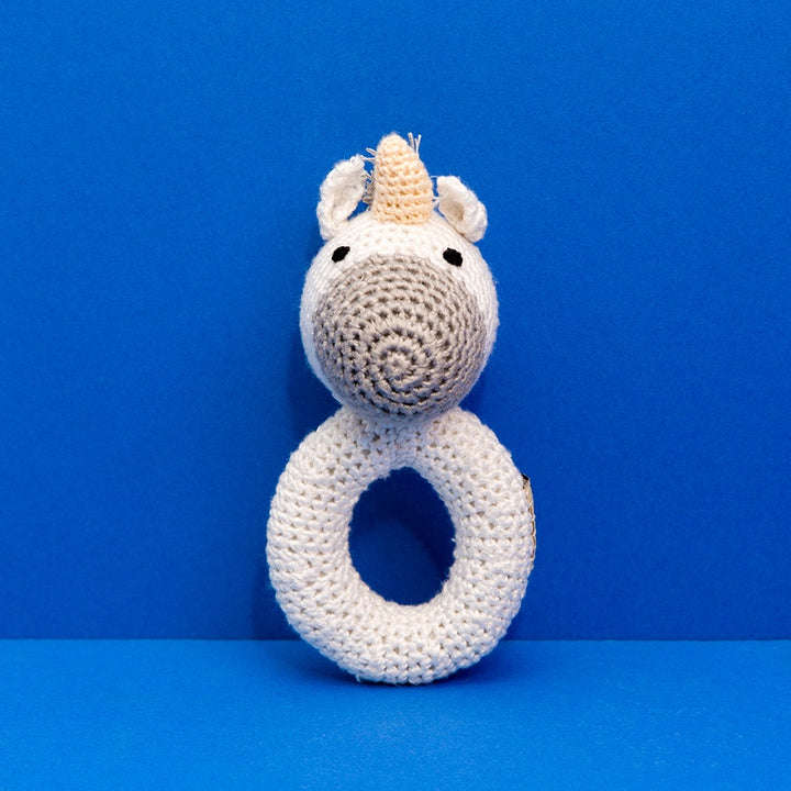 Ring Rattle Unicorn