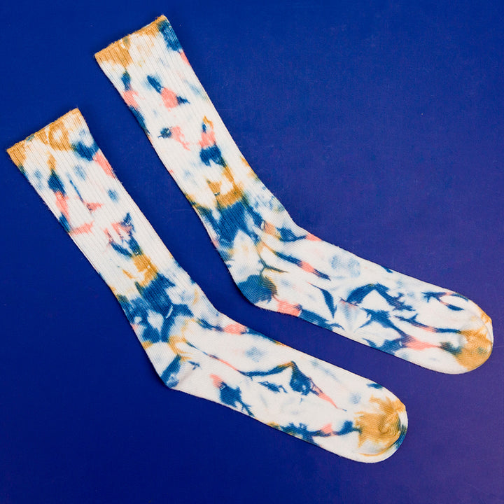 Men's Tie Dyed Socks - Jupiter