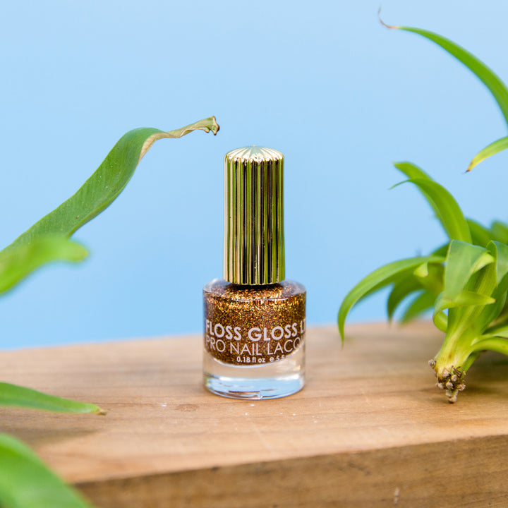 Floss Gloss Nail Polish - Honey