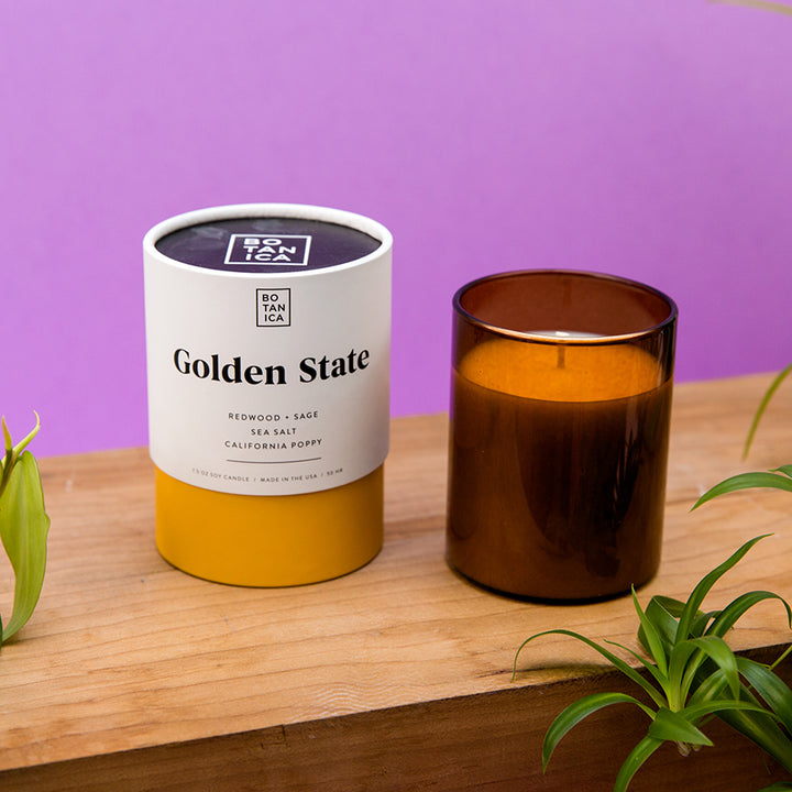 Botanica Candle - Golden State