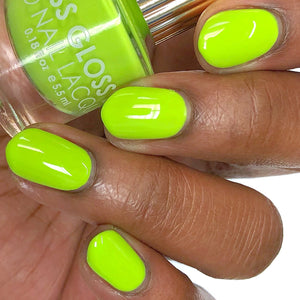 Floss Gloss Nail Polish - Con Limon