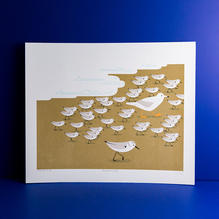 Sanderlings Giclee Print