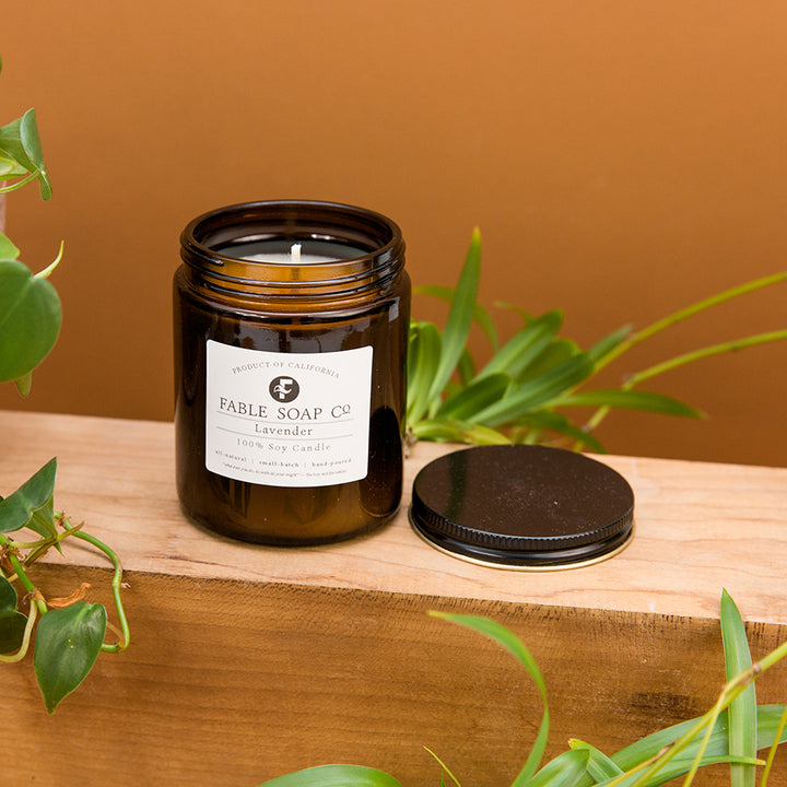 Fable Soy Candle - Lavender