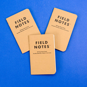 Notebooks 3 Pack - Plain