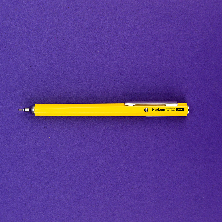 Horizon Needle Point Pen - Yellow
