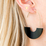 Arch Earrings Circle