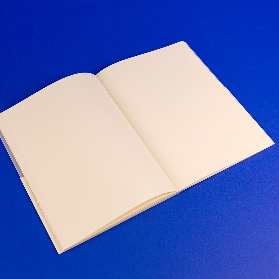 MD Notebook A5 - Blank (open)