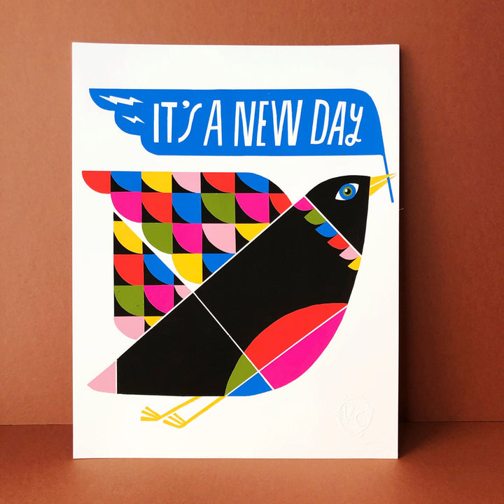 It's A New Day Print