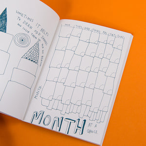 Non-Planner Datebook by Keri Smith (Paperback Edition)