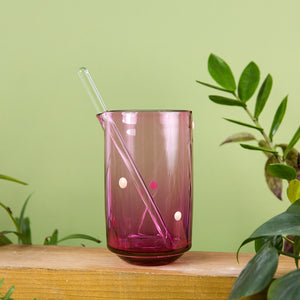 Spotted Cocktail Set - Ruby Mixer