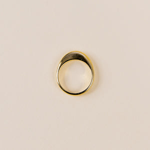 Pili Polished Bronze Ring