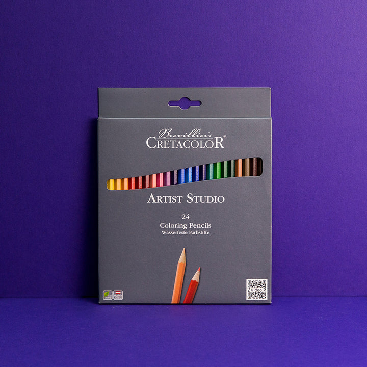 Artist Studio 24-Colored Pencil Set