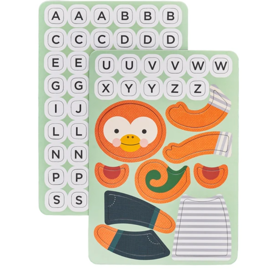 Magnetic Travel Game - Hang On Monkey (pieces)