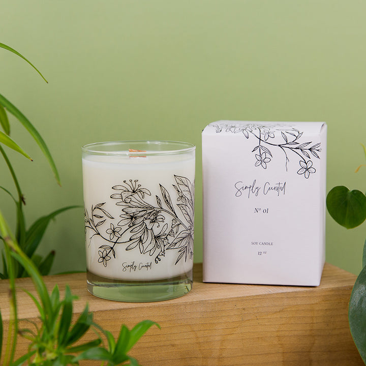 Botanical Collection Candle - No. 1