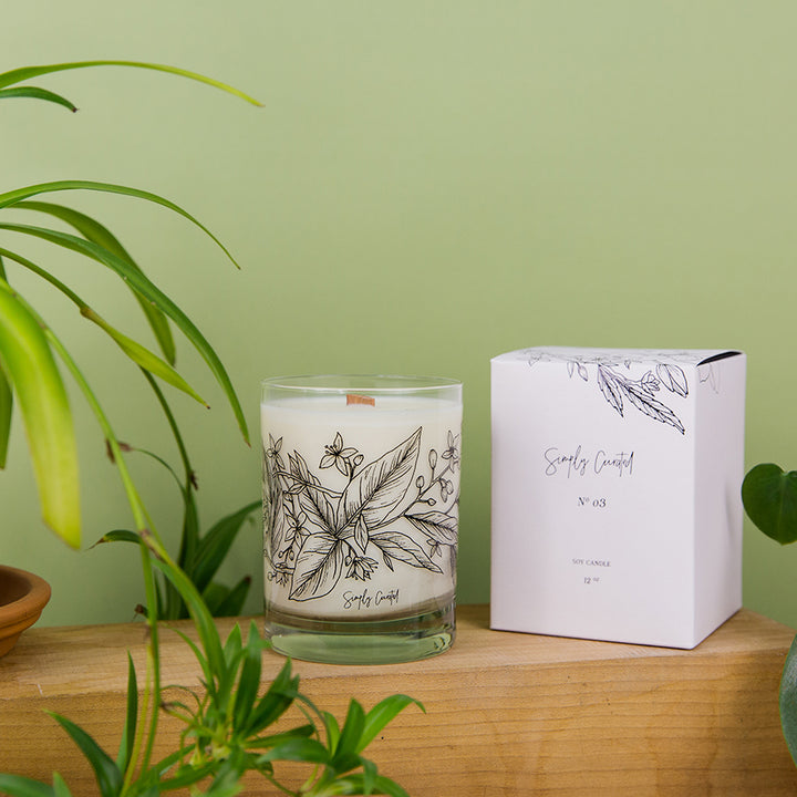 Botanical Collection Candle - No. 3