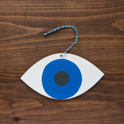 Wooden Eye Ornament