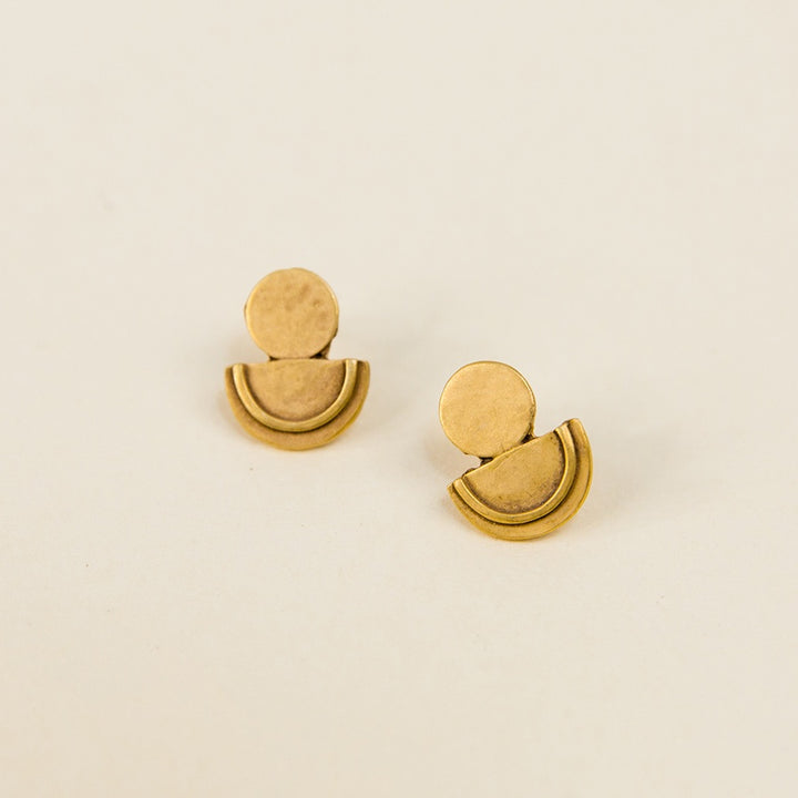 Dawn Post Earrings - Vermeil