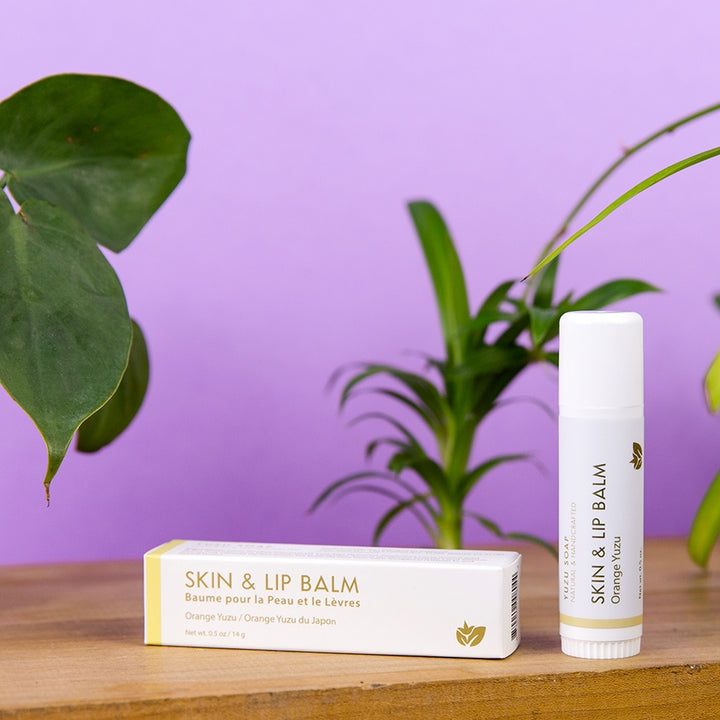 Skin & Lip Balm Stick - Orange Yuzu