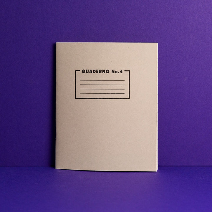Quaderno Notebook - No. 4