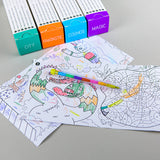 Pocket Games Coloring Rolls