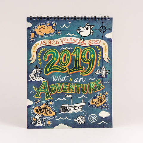 What An Adventure 2019 Calendar