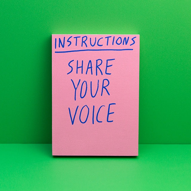 Instructions: Share Your Voice