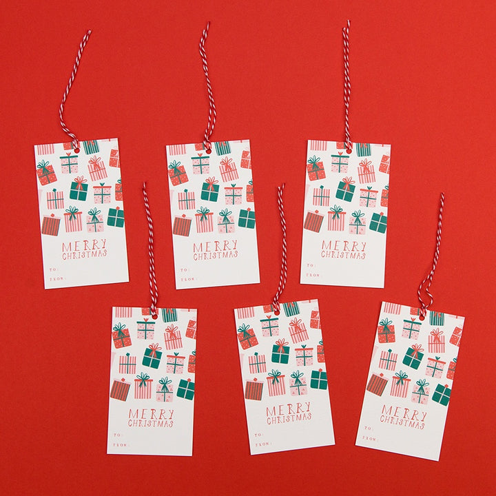 Open This One First! Gift Tags