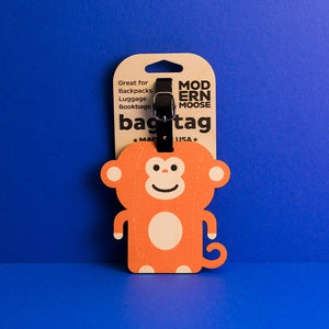 Bag Tags - Monkey