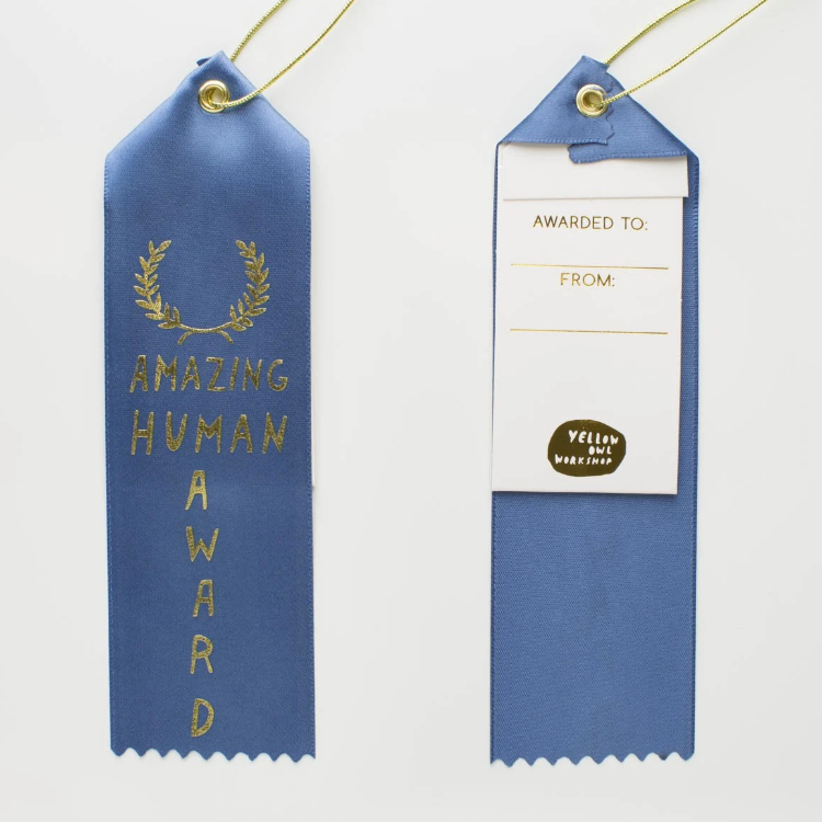 Amazing Human Award Ribbon
