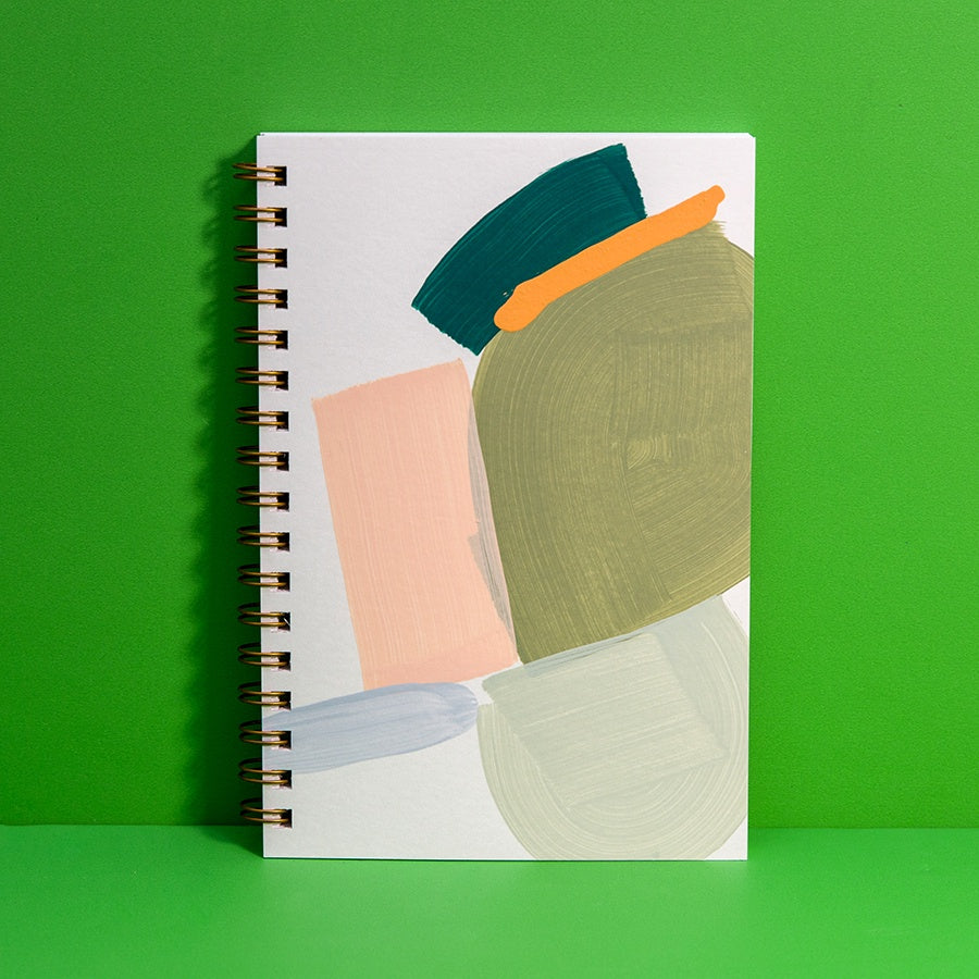 Playa Painted Notebook