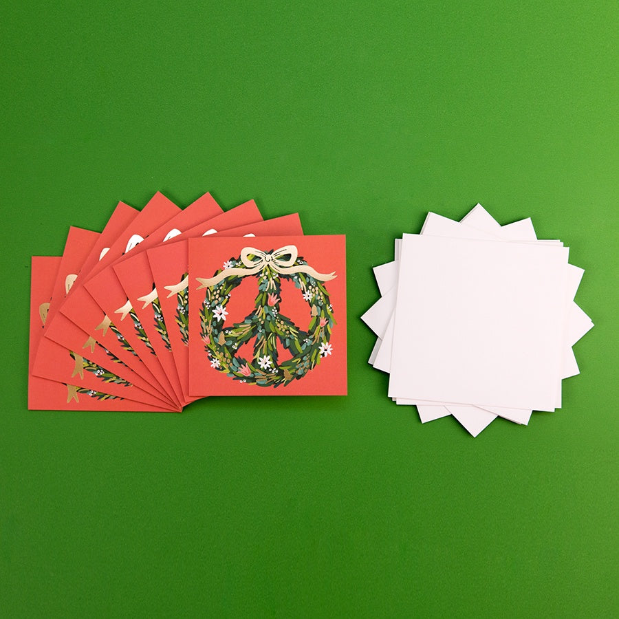 Peace Wreath Ribbon Boxed Set