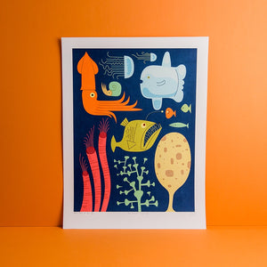 12 Wet Things Giclee Print