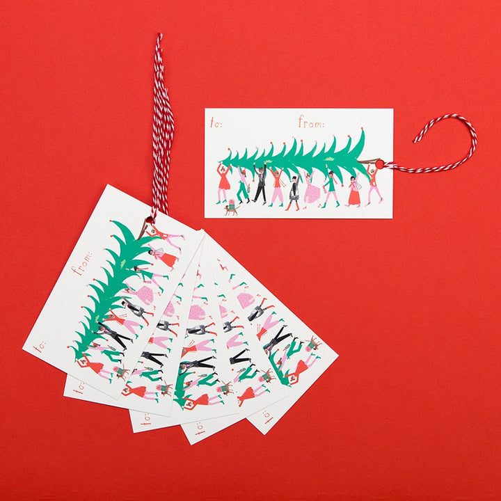 Holidays in the Village Gift Tags